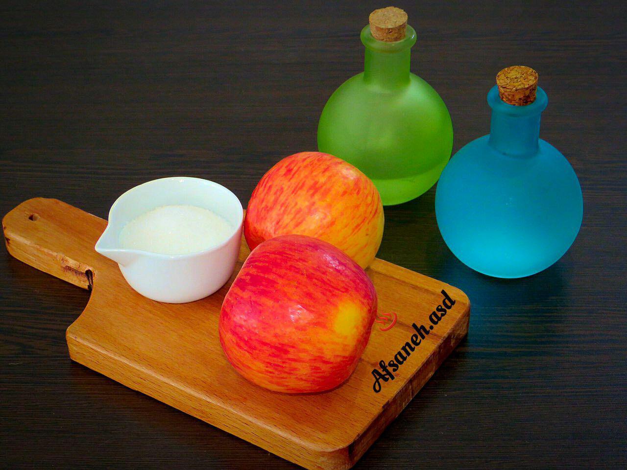 طرز تهیه کمپوت سیب , خواص سیب