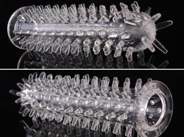 مسائل جنسی و روابط زناشوئی  , انواع کاندوم : کاندوم خاردار درشت و تاخیری + عکس