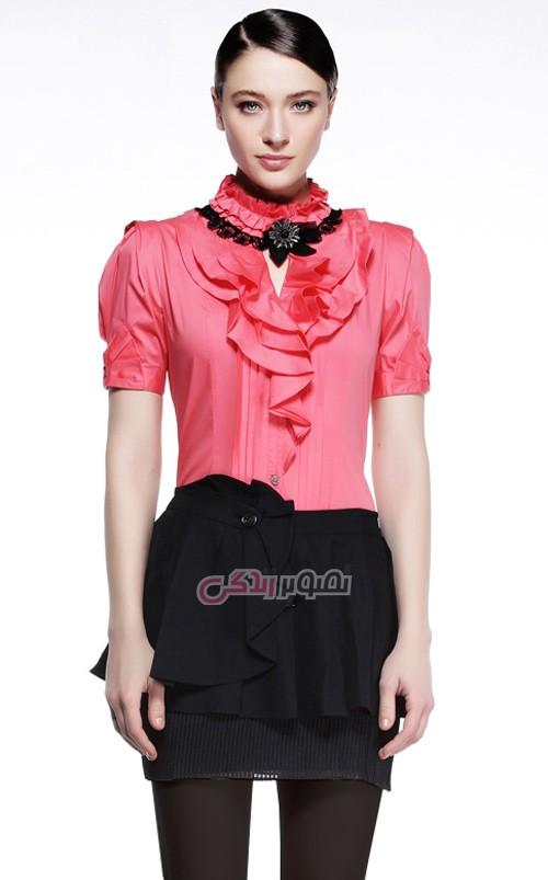 مدل لباس زنانه  , مدل بلوز زنانه برای عید 95 / بلوز مجلسی