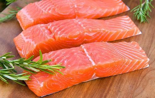 دردهای مزمن بدن. گوشت ماهی