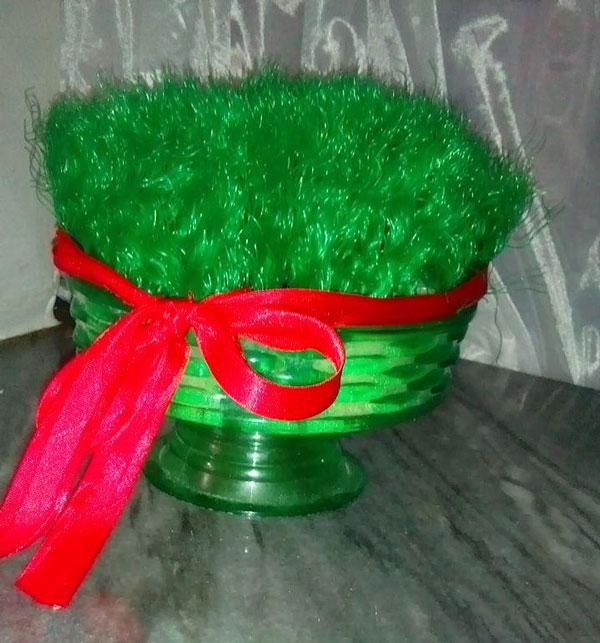 درست کردن سبزه مصنوعی , سبزه عید , سبزه سفره هفت سین