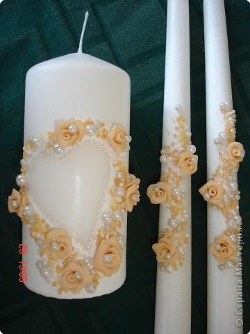 تزیین شمع عروسی, تزیین شمع سفره عقد