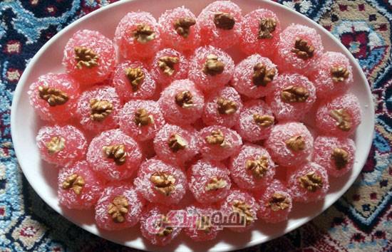 باسلوق ژله ای , یلدا , شب یلدا , دسر , شیرینی