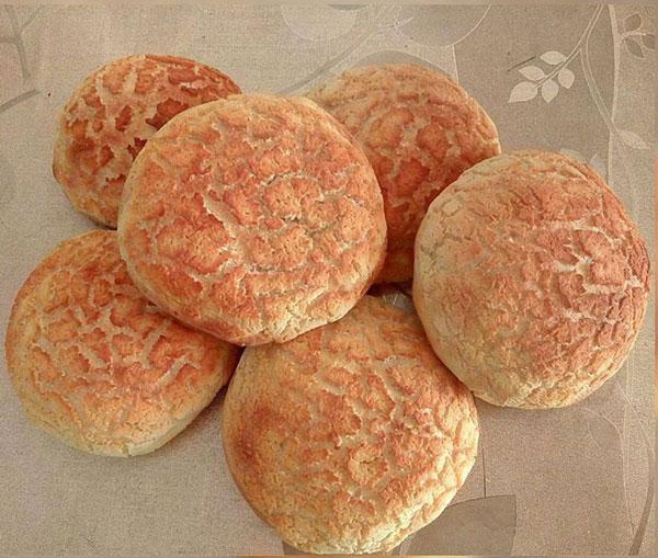 نان همبرگر پلنگی , نان پلنگی