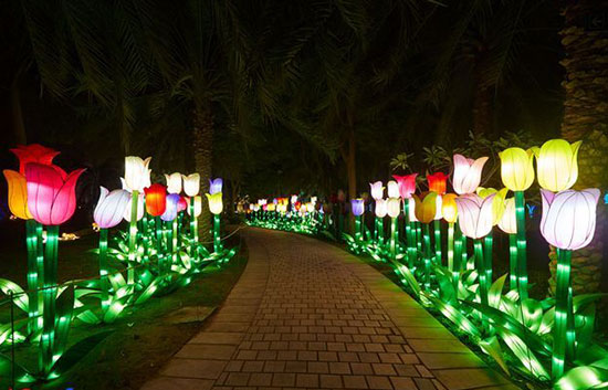 پارک نور دبی , دیدنی های دبی , جاذبه های گردشگری دبی