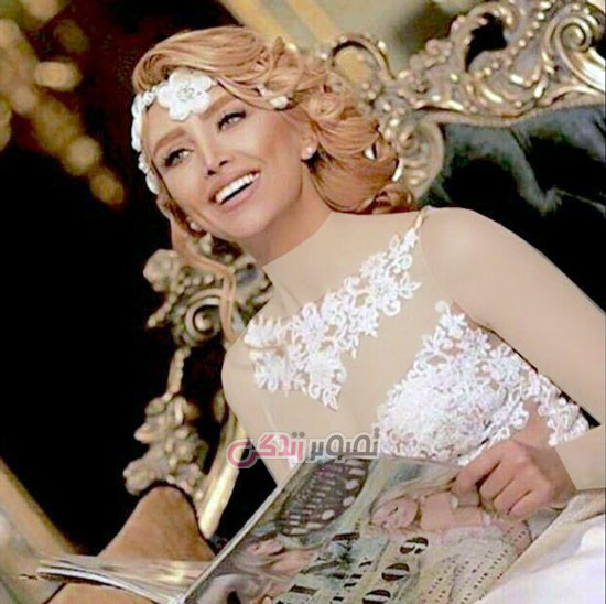 آرایش عروس , شینیون موی عروس , مدل تاج عروس