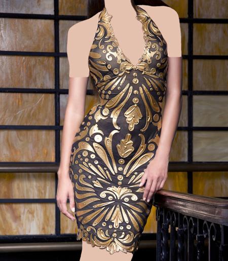 مدل لباس مجلسی دکلته دخترانه