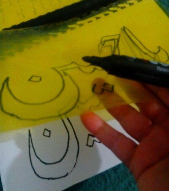 نقاشی روی لباس , نقاشی روی پارچه