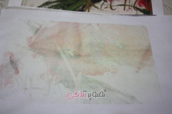 آموزش هنرهای دستی  , آموزش نقاشی روی پارچه با چاپ لیزری
