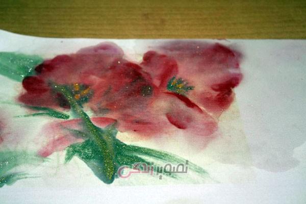 نقاشی روی پارچه به کمک چاپ لیزری