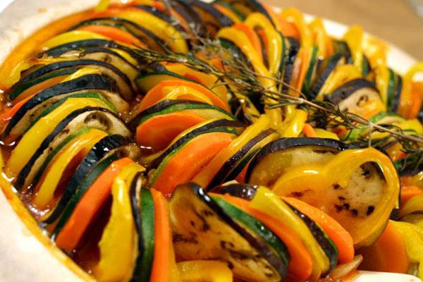 طرز تهیه راتاتوی - خوراک سبزیجات فرانسوی