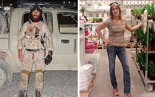 اخبار گوناگون  , تغییر جنسیت مردی که بن لادن را کشت و زن شد !!