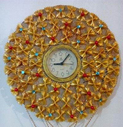 آموزش هنرهای دستی  , دو ایده تبدیل ساعت رومیزی به ساعت دیواری