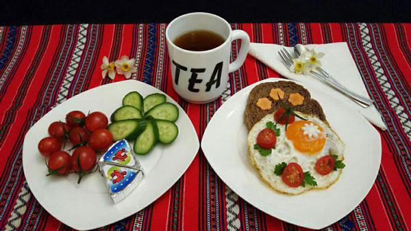 خوردن صبحانه , لاغری , تناسب اندام