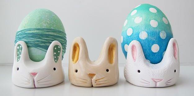 ساخت جا تخم مرغی خرگوش , تزیین سفره هفت سین