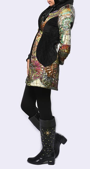 مدل مانتو زمستانی  , مدل مانتو کتی زمستانه و پاییزه شیک دخترانه