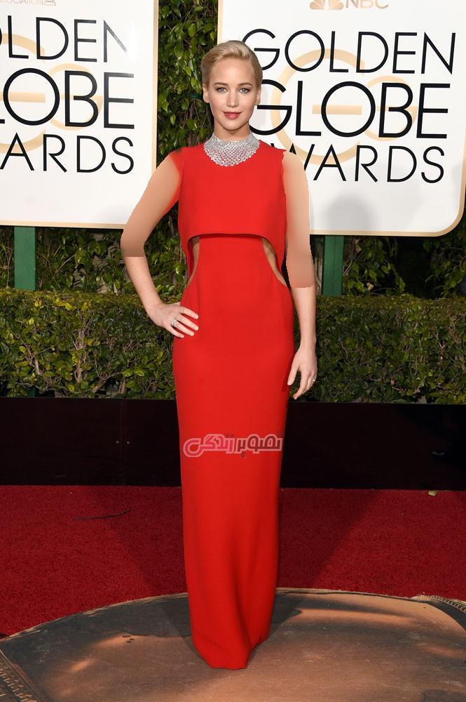 زیباترین مدل لباس بازیگران در مراسم گلدن گلوب 2016