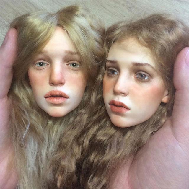 عروسک های انسان نما , عروسک هایی با چهره طبیعی