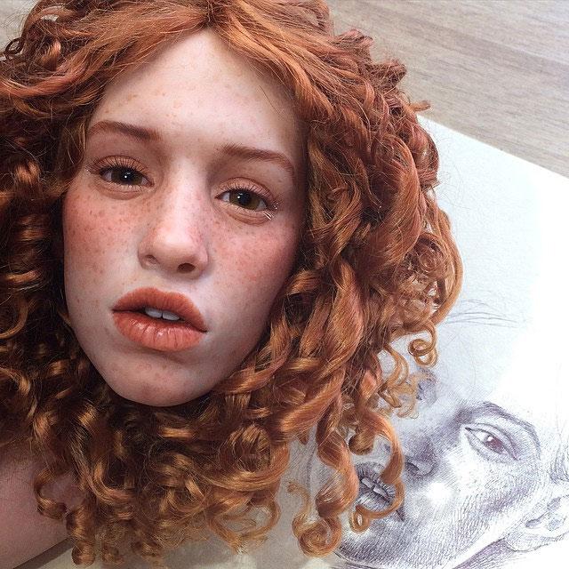عروسک های انسان نما , عروسک هایی با صورت طبیعی