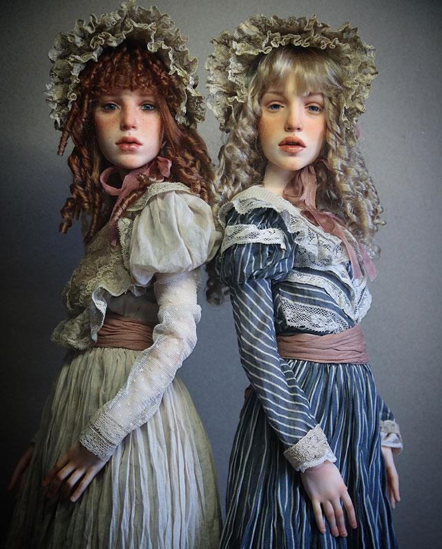 عروسک های انسان نما , عروسک هایی با صورت واقعی