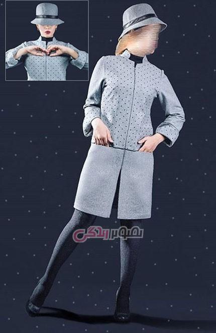 جدیدترین مدل مانتو , La neige , مدل مانتو مجلسی