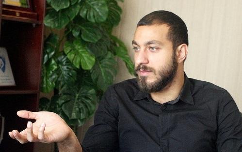 سوشا مکانی بعد از آزادی از زندان سر تمرین پرسپولیس