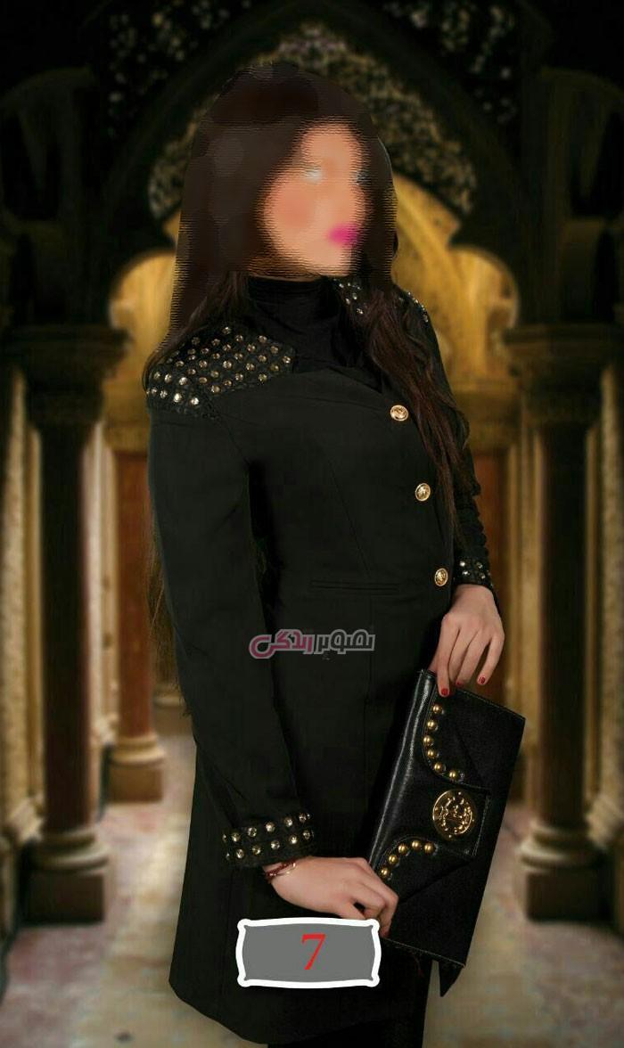 مدل مانتو مجلسی , مانتو مجلسی مشکی , مدل مانتو جدید 2016