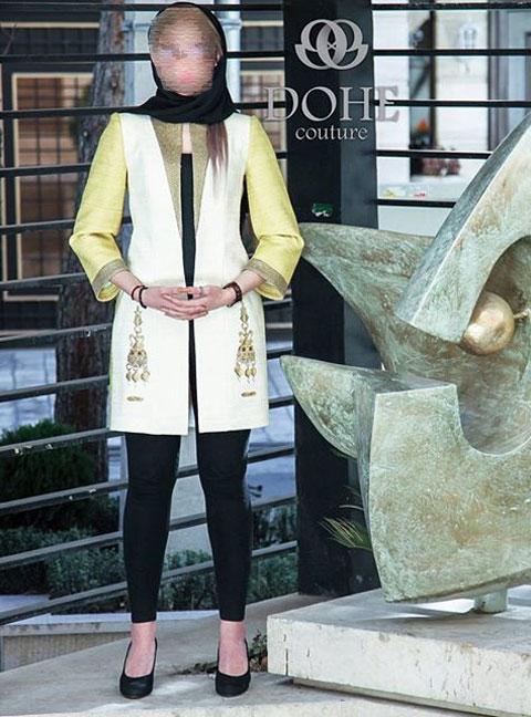 مدل مانتو عید 95, مدل مانتو مجلسی , مدل جدید مانتو