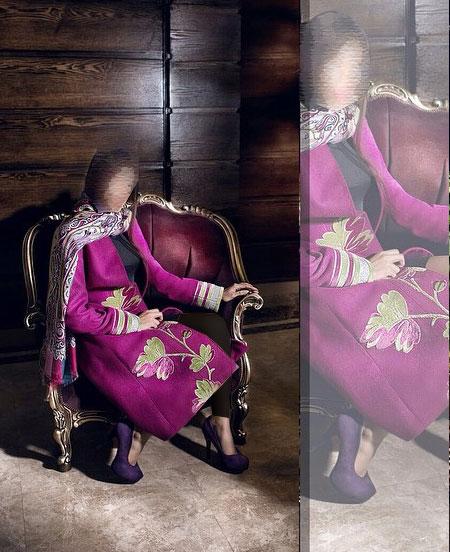 مدل مانتو مجلسی , مدل مانتو عید 95 , مدل جدید مانتو