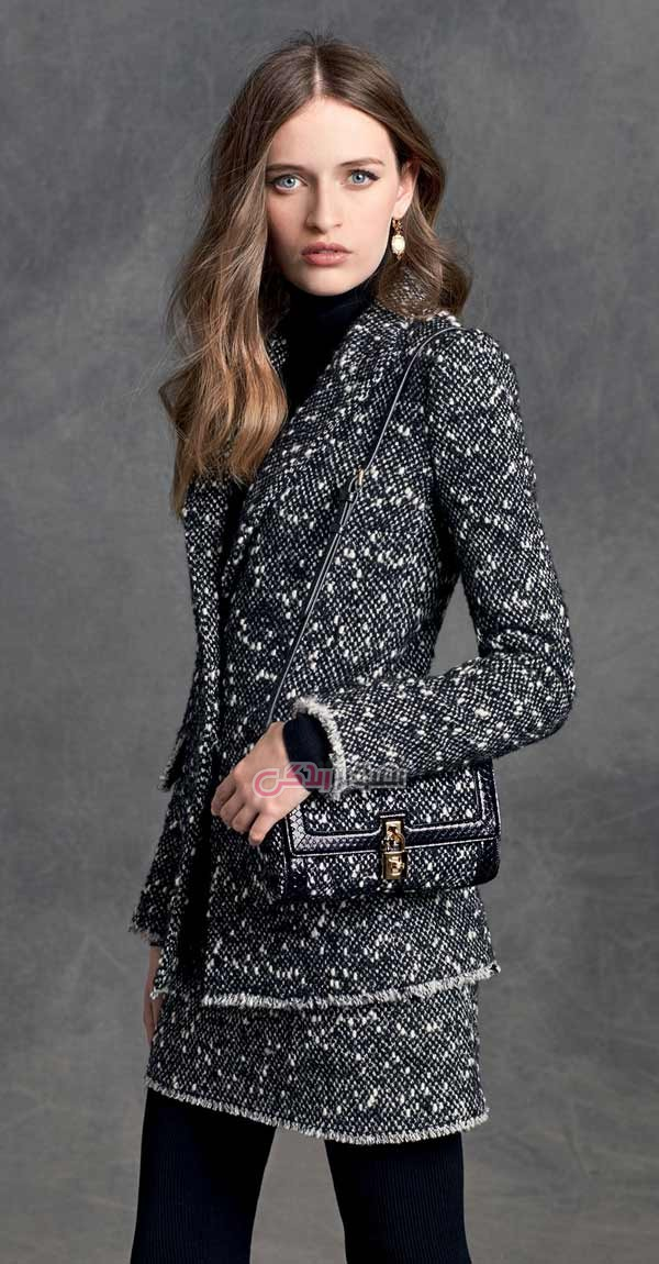 مدل لباس زنانه  , مدل پالتو زنانه و دخترانه 2016 دولچه گابانا