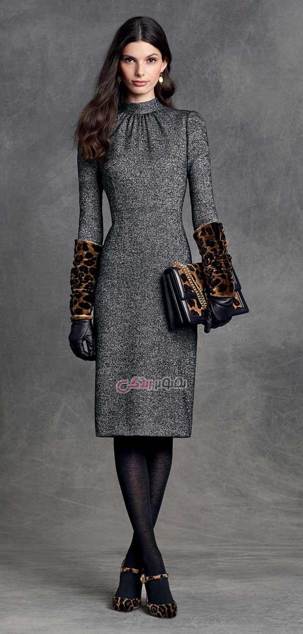 مدل پیراهن زنانه , مدل لباس زمستانی