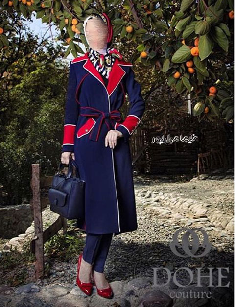 مدل مانتو زمستانی Dohe , مدل پالتو زنانه 2016