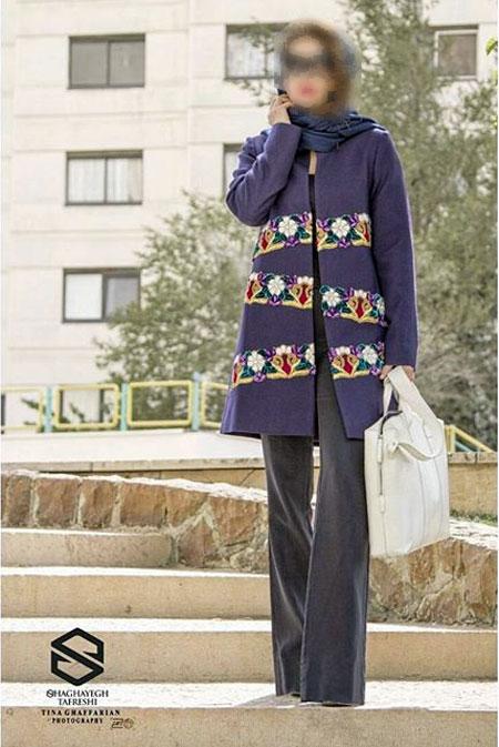 مدل مانتو شیک , مدل مانتو مجلسی , مدل مانتو عید 95