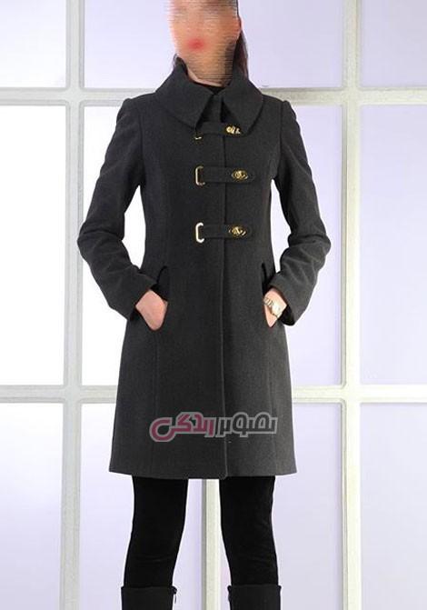 مدل مانتو زمستانی برند تن پوش