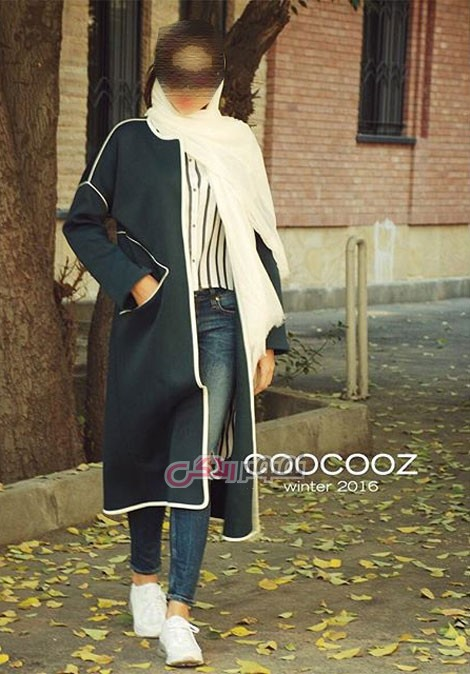 مدل مانتو زمستانی 95