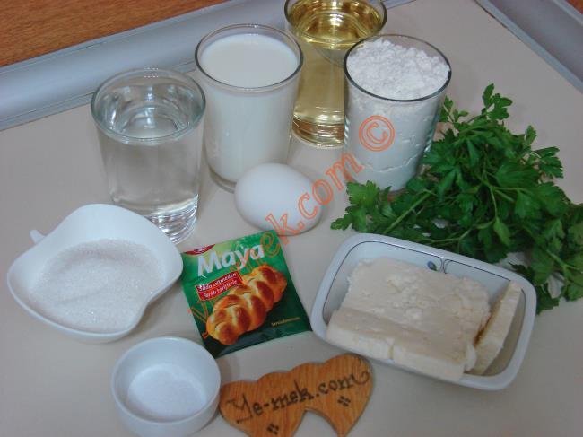 دستور پخت غذا  , طرز تهیه پیراشکی پنیر و جعفری