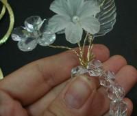 گل سینه , ساخت مگنت یخچال , گل کریستالی