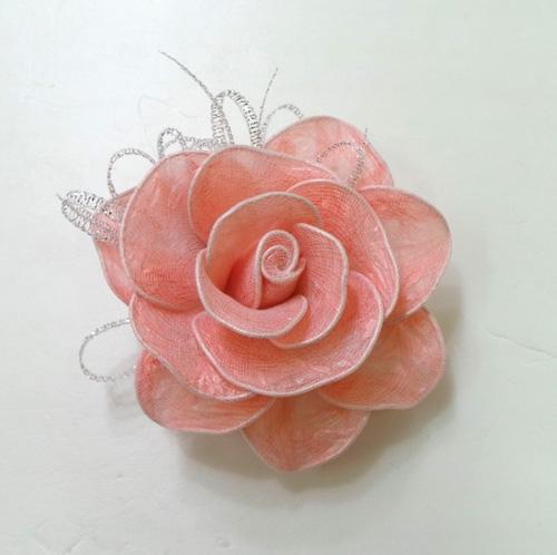 آموزش ساخت گل رز با کیسه زیاله رنگی