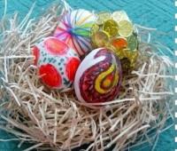 تزیین تخم مرغ هفت سین , رنگ کردن تخم مرغ