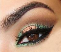 عکس آرایش چشم , خط چشم , سایه چشم