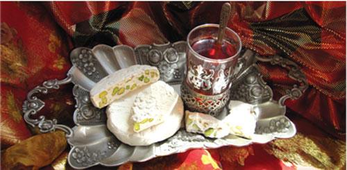 نان، شیرینی، دسر  , طرز تهیه گز آردی اصفهان + فیلم