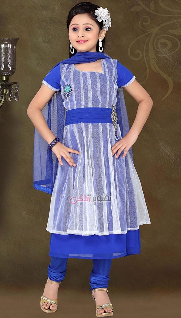 مدل لباس هندی بچگانه , پیراهن هندی دخترانه