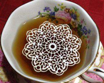 نان، شیرینی، دسر  , طرز تهیه گیپور خوراکی برای تزیین شیرینی و چای