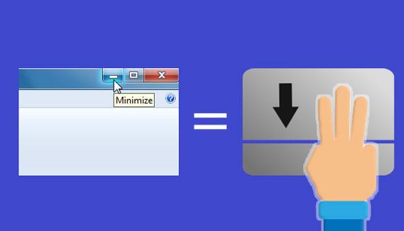 کلید میانبر, Touchpad