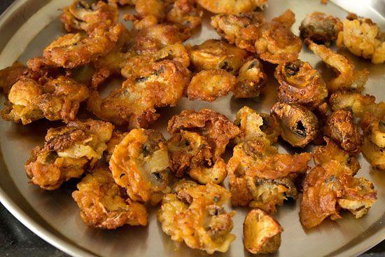 خوراک قارچ منچوری