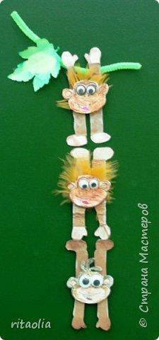 میمون مقوایی تزیینی , دیوارکوب میمون , سال میمون