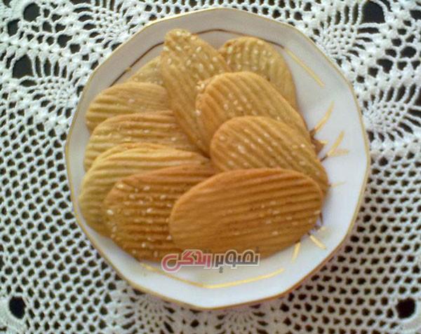 نان، شیرینی، دسر  , طرز تهیه نان شیرمال / شیرینی نوروزی نایین