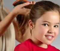 کم پشت بودن موهای کودکان