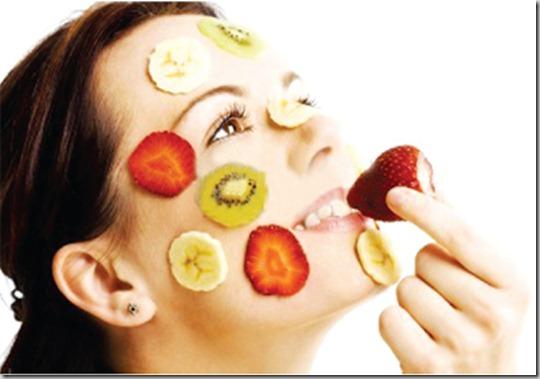 پوست  , مواد غذایی موثر در سلامت و زیبایی پوست