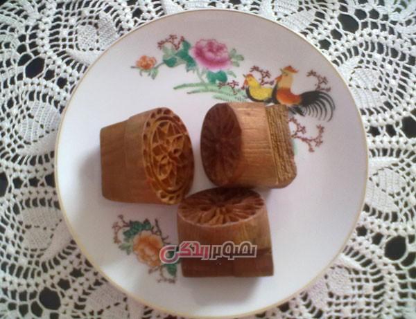 شیرینی برنجی , نان برنجی , شیرینی نائینی